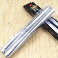 Wholesale martial arts for sale - Martial Arts Anti Wear Nunchakus Creative Folding Stick Stainless Steel Portable Fashion Silvery High Quality Nunchaku bk jj