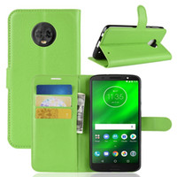 Wholesale alcatel skin case for sale – best For Huawei P Smart Honor NOVA G Pro SE Moto G6 PLUS Alcatel Litchi Wallet Leather Case Stand Card Skin Cover Pouch