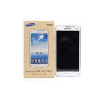 samsung galaxy mega 5.8 оптовых-Восстановленный Samsung Galaxy Mega 5.8 дюймовый I9152 i9152 Смартфон 1,5 ГБ / 8 ГБ 8,0-мегапиксельная WI-FI GPS Bluetooth WCDMA 3G 2G разблокирована сотовый телефон