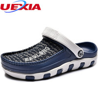Wholesale tongs for sale - Group buy Men s Summer Shoes Sandals New Breathable Beach Flip Flops Mens Slippers Mesh Lighted Shoes Tongs Chancletas Sandalias Sandales