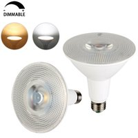 Wholesale e26 led flood - PAR20 PAR30 PAR38 LED Bulb Light Dimmable LED Flood Lights Bulb Indoor Outdoor Lighting E26 E27 LED Spotlight 7W 9W 12W 15W