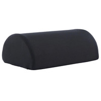Wholesale back bedding online - Black Memory Foam Back Cushion Footrest Pillow Pad Soft Comfort Breathable Bed Backrest Pad Detachable Slow Rebound Cushions