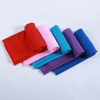 Wholesale blue cold hands - Ice Cold Towel Single Layer Sports Cool Quick Dry Cooling Towels Fabric Print Cotton Towel Beach Towels Swimwear