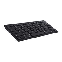 android laptop-pc großhandel-Universal K09 Bluetooth Wireless Tastatur Tastatur Ultra-Slim für PC Apple iPad Laptop Android IOS Tablet Smartphone