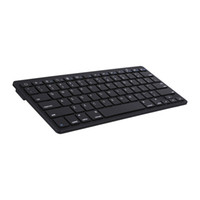 laptops al por mayor-Universal K09 Teclado Bluetooth Inalámbrico Teclado Ultra-Delgado para PC Apple iPad Laptop Android IOS Tablet Smartphone