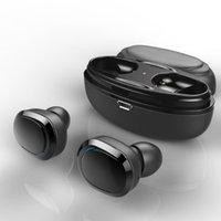 Wholesale bluetooth aptx - Bluetooth Earphone True Wireless Earbuds With Charger Box Built-In Mic APTX Stereo Sports Mini Bluetooth Headset