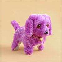Wholesale battery operated toy dogs resale online - Music Light Cute Robotic Electronic Walking Pet Dog Puppy Kids Toy toys for children
