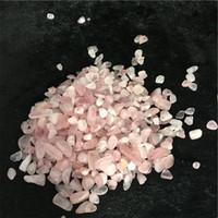Wholesale Bead Room - 50g Pink Rose Quartz Irregular Tumbled Stones Gravel Crystal Healing Reiki Rock Gem Beads Chip for Fish Tank Aquarium Decor
