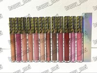 Wholesale glittered lips - Factory Direct DHL Free Shipping New Makeup Lips Weather Collection Flash Glitter Gloss Liquid Lipstick!12 Different Colors