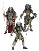 "Wholesale alien movie figure - igures collectibles AVP Aliens vs. Predator Series NECA Young Blood Predator   Serpent Hunter PVC Action Figure Collectible Model Toy 8"" ..."