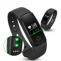 Wholesale id107 smart bracelet online – ID107 Fitness Tracker Smart Band Smartband Heart Rate Monitor Wristband Fitness Flex Bracelet for Android iOS Smartphone