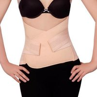 Wholesale maternity belly bands - Women Cincher Breathable Maternity Postpartum Body Shaper Corset Waist Girdle Shapewear Belly Band Waist Corset 100pcs OOA4462