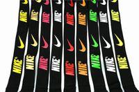 apfel iphone halsband großhandel-Kostenloser Versand Sport Marke Lanyard Strap Keychain IPhone Abzeichen Halter oder E-Cigs Neck Strap abnehmbare Schnalle viele Stile gemischt