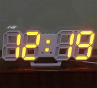 светодиодный многоцветный экран оптовых-3d настенные цифровые часы Metope светодиодный дисплей проектор цветной экран проекции электронные часы многофункциональный погода горячие продажа 39gl jj