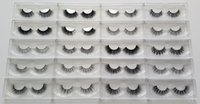 Wholesale fast hair styles - 1 Pack 20 Styles Selectable Fast Free Shipping DHL EMS OEM Custom Acceptable 3D Multi-Layered Real Mink Hair Fur Eyelashes Messy Eye Lashes
