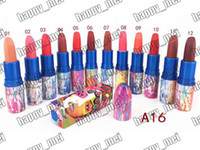 Wholesale lipstick factory resale online - Factory Direct DHL New Makeup Lips Chris Chang Matte Lipstick Different Colors