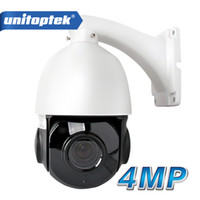 Wholesale Indoor Mini Ptz Dome Camera - 4 inch Mini Size 4MP IP PTZ camera Network Onvif Speed Dome 30X Optical Zoom PTZ IP Camera CCTV 50m IR Night Vision Distance