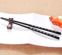 hochwertige ess-sets großhandel-Hot Kitchen Dining Bar Hochwertige Tragbare Sushi Chop Sticks Chinesische Essstäbchen Lerner Geschenke Set Exquisite Rutschfeste Küche Zubehör
