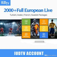 Wholesale android iptv apk for sale - 1 Years subscription Popular IPTV Account Apk Europe IPTV Arabic Iptv include IT TR UK Channels Support Android Enigma2 Mag