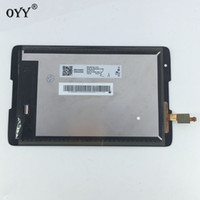 Wholesale Lenovo Lcd Monitors - LCD Display Panel Screen Monitor Touch Screen Digitizer Glass Assembly For Lenovo IdeaTab A8-50 A5500 A5500F A5500-H A5500-HV