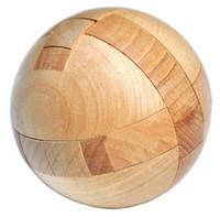 magic sphäre puzzle großhandel-Holz Puzzle Magic Ball Denksportaufgaben Toy Intelligence Spiel Sphere Puzzles für Erwachsene / Kinder