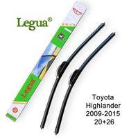 ingrosso lama tergicristallo toyota-Spazzola tergicristallo Legua per Toyota Highlander, 2009-2015,20