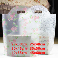 273becf86a3 ... handles small gift packaging bags Large Plastic Shopping Bags Jewelry  Accessory Pouches 100pcs. 15% Off