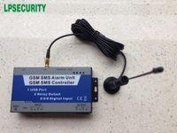 sms denetleyicisi toptan satış-GSM SMS Endüstriyel kontrolör otomasyon S130 Vana / Pompa / trafo Uzaktan anahtarı kumanda SMS röle