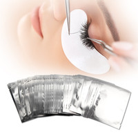 Wholesale paper eye pad resale online - Thin Hydrogel Eye Patch for Eyelash Extension Under Eye Patches Lint Free Gel Pads Moisture Eye Mask Eyelash Tips Paper Stickers Wraps