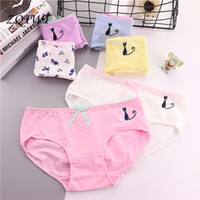 c509374d4bc ZQTWT 2018 New Arrival Cute Cat Panties Women Lingerie Sexy Cotton Panties  Seamless Panty Briefs Underwear Intimates Z3NK095