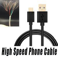cabo de sincronização usb 2m venda por atacado-Rápido de carregamento usb cabo 2a sincronização de dados 1 m 1.5 m 2 m 3 m 0.25 m 0.5 m cabo para samsung s8 android telefone inteligente