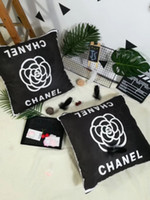 Wholesale new year pillow for sale - Group buy 2019 Hot sale Fashion Brand new Pillow case Decoration cm Fashion Pillow High Quality Fashion Brand Pillows no Pillows