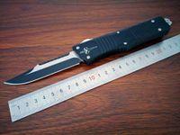 ingrosso al leghe-I più nuovi modelli tasca coltello tattico Dinosauro Al Alloy manico D2 lama Outdoor coltelli campeggio strumento di sopravvivenza EDC spedizione gratuita