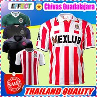 Wholesale Champions Football - New Arrived Retro 1997 MEXICO Club Classic Chivas de Guadalajara Soccer Jersey 2018 Authentic Champion Camiseta de Futbol Football Shirts