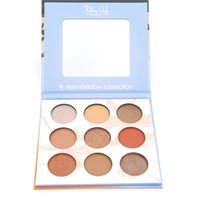 Wholesale 9 Colors Eyeshadow Pallete Yellow Eyeshadow Matte Shimmer Eye Shadow Palette Makeup Net g CE087