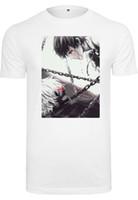 sıcak manga toptan satış-T-Shirt Herren Tokyo Ghoul Anime Manga Ken Kaneki Kısa Kollu Artı Boyutu indirim sıcak yeni en ücretsiz kargo t-shirt