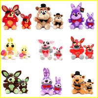 Wholesale collectible stuffed animals for sale - Group buy Plush toys cm cm Five Nights At Freddy FNAF Dolls Stuffed Toys Golden Freddy fazbear Mangle foxy bear Bonnie stuffed animals kids toys