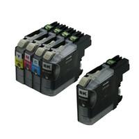 cartouches d'imprimantes brother achat en gros de-Encres d'imprimante 5PK LC101 compatibles pour Brother MFC-J285DW MFC-J450DW MFC-J470DW MFC-J475DW MFC-J650DW Encre Pour Cartouches