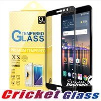 Wholesale alcatel idol x - For ZTE Blade X Max alcatel onetouch idol 3 4 5 PIXI THEATRE HuaweiP20 lite PRO 2.5D Full Cover Tempered Glass Screen Protector For Cricketd