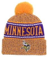 Wholesale orange derby hat for sale - New Fashion Unisex Winter Minnesota  Hats for Men women 3f6323cd2426
