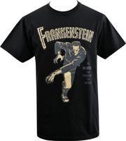 Wholesale shirt samples online - Sample Sale MENS T SHIRT FRANKENSTEINS MONSTER VINTAGE HORROR POSTER CLASSIC Cotton T Shirt For Boy Casual Short Sleeve