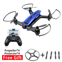 Wholesale Quadcopter Blue - Flytec T18D RC Quadcopter Mini Racing Drone 4CH 6axit UFO with Wifi FPV 720PX Height Hold Mode RTF