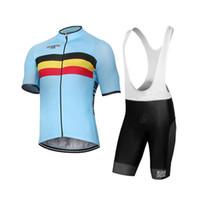 Wholesale bike jerseys kits for sale - Cycling Jersey Pro Belgium Team Men s Summer Short Sleeve Bicycle Clothing Kit Ropa Ciclismo Belgian Bike jersey bib shorts kit