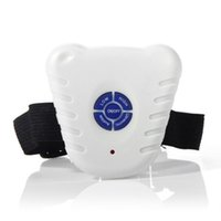 bellende halsbänder für hunde großhandel-Ultraschall Dog Stop Barking Kontrolle Kragen Button Clicker Wasserdicht Einstellbare Anti Bark Hundetrainingshalsband für S / M / L Hunde