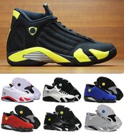 Wholesale Fusion Sports - 2018 Wholesale 14 XIV basketball shoes man Fusion Purple Black Red Playoffs Army Green 14 sneakers high quality sports shoes Eur 41-47