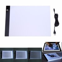 Wholesale digital tablet draw for sale - LED Graphic Tablet Writing Painting Light Box Tracing Board Copy Pads Digital Drawing Tablet Artcraft A4 Copy Table LED Board