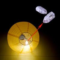 ingrosso lanterna principale cinese-Mini lampada a LED a palloncino a LED Lampadina a sfera per lanterna di carta cinese Forniture per feste Toycity per decorazioni di nozze per feste di Halloween