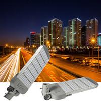 led sokak ışık direği toptan satış-Dış aydınlatma yüksek kutuplu led ışık 50W 100W 150W 200W 250W seçim kol sokak su geçirmez IP67 farları yakarak yol açtı Steet