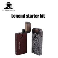 Wholesale free legend - Authentic Industry Legend Vape Starter Kit with 3ml Cartridge E-cigarette kit 1300mAh Vapor Box Mod Pod Kit VS pocket snail DHL free