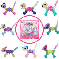 Wholesale pet toys for girls online - Magic Bracelet Collectible Bracelet Set Designs Dog Puppy Bunny Unicorn Make a Bracelet or Twist into a Pet Toys for Girls